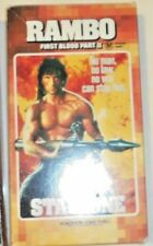Rambo First Blood Part II Stallone vhs Card Case Cover
