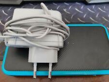 Nintendo 2DS XL Console de Jeu Portable - Bleu - noir + 4 jeux