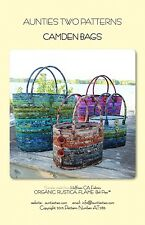 CAMDEN BAGS SEWING PATTERN, Bags, Purses, & Totes From Aunties Two NEW