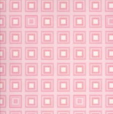 Cool Pink and Off-White Squares Wallpaper by York per Double Roll    BM9091