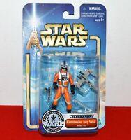Star Wars Commander Jorg Sacul Action Figure Rebel Pilot Celebration II Lucas