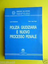 libri polizia giudiziaria e nuovo processo penale istituzioni legge politica law