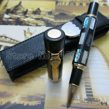Deep Sea Bright Pearl Shell JINHAO roller pen M NIB and holster free shipping