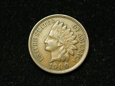 SUMMER SALE!!  XF+ 1900 INDIAN HEAD CENT PENNY w/ DIAMONDS & FULL LIBERTY #68s