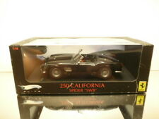 HOTWHEELS ELITE FERRARI 250 CALIFORNIA SPIDER SWB - BLACK 1:18 - GOOD IN BOX