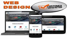 NEW, FAST WEBSITE WEB DESIGN FREE HOSTING FREE DOMAIN for any business industry!
