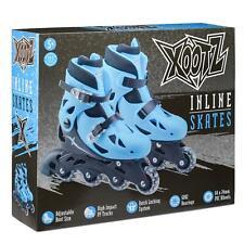 Toyrific Xootz Inline Roller Skates Childrens Kids Skating Blue Medium
