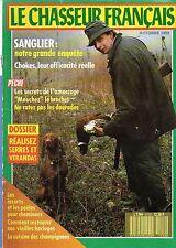 le chasseur francais n°1112 sanglier chokes l'amorcage brochet octobre 1989