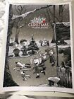"""A Charlie Brown Christmas - 18"""" x 24"""" AP Signed Poster by Tim Doyle"""