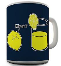 Lemon Novelty Funny Coffee Mug