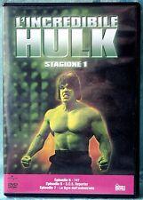 L'INCREDIBILE HULK - STAGIONE 1 - EPISODI 5-7 - DVD N.01668