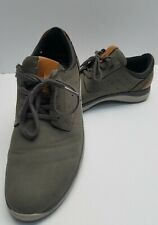 Men's Earth Spirit Wyatt Grey Casual Lace Up Shoes Size 12
