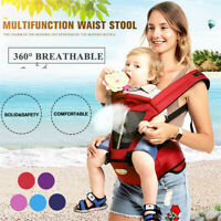 Newborn Baby Carrier Kids Toddler Waist Hip Seat Wrap Belt Sling Backpack Sling