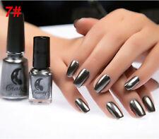 Metallic Metal Nail Polish Magic Mirror Effect Chrome Nail Art Polish Varnish