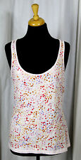 BANANA REPUBLIC BABY PINK SEQUINS EMBELLISHED 60%COTTON 40%MODAL KNIT TOP TANK M