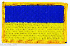 PATCH ECUSSON BRODE DRAPEAU UKRAINE INSIGNE THERMOCOLLANT NEUF FLAG PATCHE