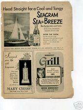 Guy Lombardo Jazz Hotel Roosevelt 1940's Original Ad
