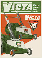 Victa Mower Mark Two VC 125 & VC 160 Metal Reprod Sign 454