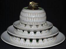 Set  ROBERT MAXWELL NESTING ASHTRAYS  Lighter Mid Century Modern Pottery Blenko