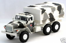 1/43 diecast russian military truck URAL 4320 with tent winter camouflage NIB