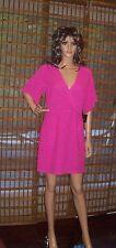 Nanette Lepore Geisha Girl Casual Dress Electric Pink SZ 6 NWT