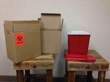 Bio Medical Sharps Waste Disposal by mail -2 Gallons - BioMedical