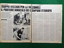 CC190 Clipping Ritaglio (1969) 35x27 cm - FABIO CUDICINI MILAN