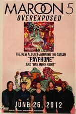Maroon 5 Overexposed Original Promo Poster Adam Levine