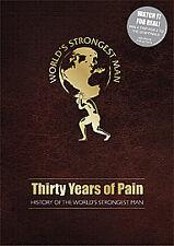 Genuine The World's Strongest Man - Thirty Years Of Pain DVD WSM VERY RARE