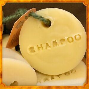 2 x Handmade Natural Shampoo Bars Soap on a rope