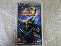 Monster Hunter Portable 3rd Sony PSP Region Free Japan Video Game