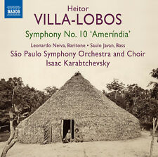Villa-Lobos / Neiva / Javan / Karabtchev - Sym 10 Amerindia [New CD]