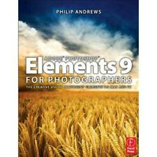 Adobe Photoshop Elements 9 for Photographers - Paperback NEW Andrews, Philip 201