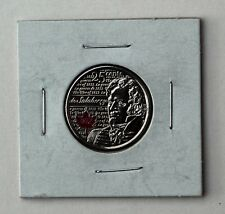 2013 Canada Quarter, de Salaberry, War of 1812, Red Coloured 25 cents Circulated