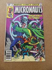 Micronauts 26 . Nick Fury App . Marvel 1981 . FN  +