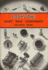 eddystone short wave components season 1938