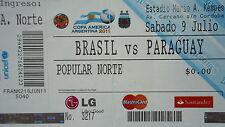 Ticket copa america 9.7.2011 brasil-paraguay en Córdoba