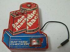 Radio Shack Micronta Battery Checker Vintage Untested