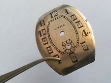 Large and rare swiss antique CYMA watch dial for parts