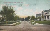 Postcard Forth Smith AR Residential Homes N. 15th Street Early 1900s