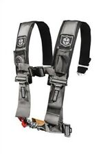 """Pro Armor Seat Belt Safety Harness 5 Point 3"""" Padded RZR Rhino Can Am Silver"""