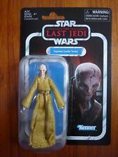 """Star Wars The Last Jedi Supreme Leader Snoke Action figure Kenner 3.75"""" MOC Mint"""