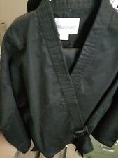 Karate Gi Black w/ White Belt Adult size 3