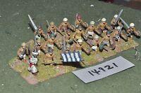 25mm medieval / turkish - seljuk infantry 20 figs - inf (14921)