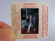 More details for original press photo slide negative - r.e.m. - michael stipe & ellen barkin -'97