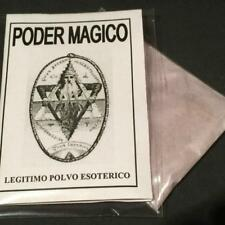 Lot x 8 ⛤ LEGITIMO POLVO ESOTERICO PODER MAGICO ⛤⛤ESOTERIC POWDER MAGIC POWER⛤