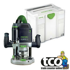 Festool OF 2200 EB-Plus GB 110V Plunge Router in Systainer SYS 4 T-LOC - 574352