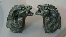 1994 Accountrements Seattle 2 Gargoyles Figurines 3.12 pounds
