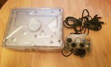 Microsoft Xbox Crystal Limited Edition  Translucent Console Tested Free Shipping