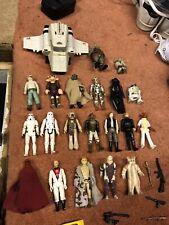 Vintage Star Wars Action Figures Bundle 1980s 1980 Original